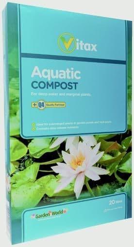 Vitax Aquatic Compost - 20L